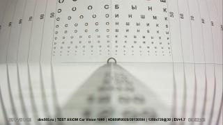 Car Vision 1000 — угол обзора