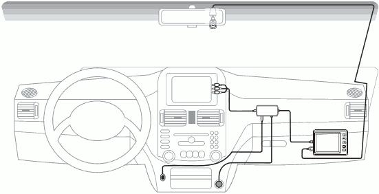 Установка Car Vision 1100