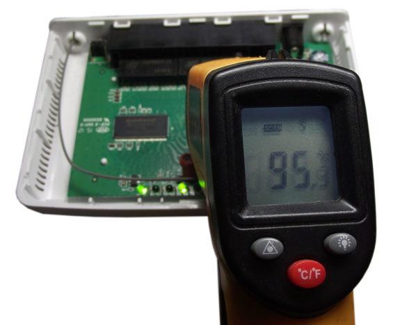 Замер температуры Tenda N630